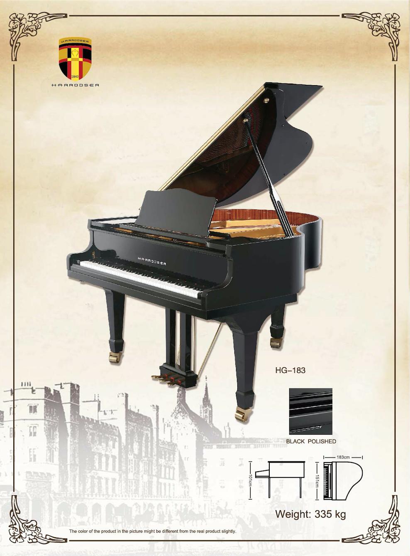 เปียโน Grand Piano Harrodser HG-183 Spec