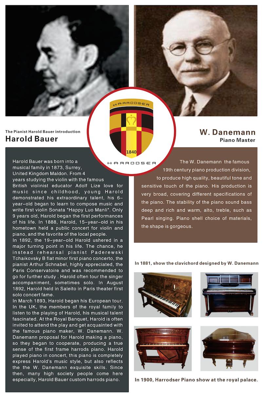 ประวัติ เปียโน Horrodser Piano เยอรมันนี