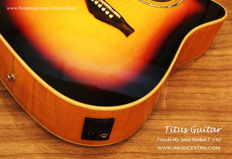 รูป กีต้าร์โปร่ง TITUS T-140