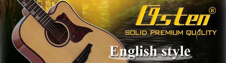 ขาย กีต้าร์โปร่ง Osten Guitar England Premium Quality