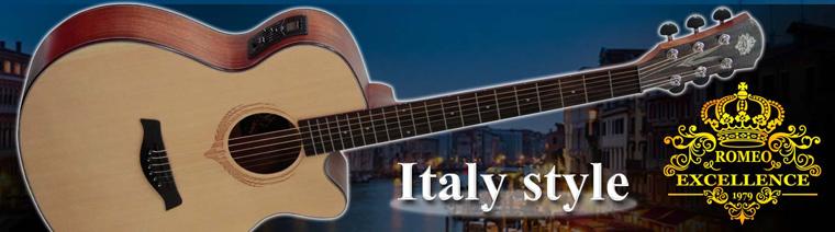 กีต้าร์โปร่ง Romeo Luxuries Solid Guitar