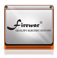 กีต้าร์ไฟฟ้า Firewar Quaity Electronic Guitars